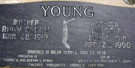 YOUNG, RUBY - Wasatch County, Utah | RUBY YOUNG - Utah Gravestone Photos