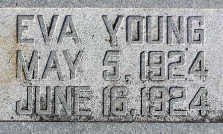 YOUNG, EVA - Wasatch County, Utah | EVA YOUNG - Utah Gravestone Photos