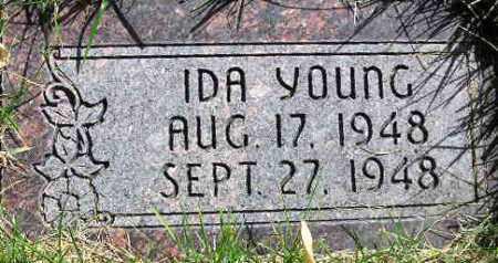 YOUNG, IDA - Wasatch County, Utah   IDA YOUNG - Utah Gravestone Photos