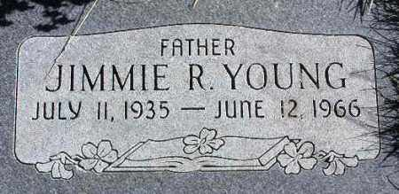 YOUNG, JIMMIE R. - Wasatch County, Utah | JIMMIE R. YOUNG - Utah Gravestone Photos