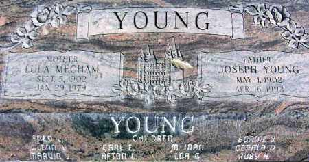 YOUNG, LULA - Wasatch County, Utah | LULA YOUNG - Utah Gravestone Photos