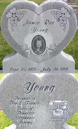 YOUNG, JAMIE RAE - Wasatch County, Utah | JAMIE RAE YOUNG - Utah Gravestone Photos