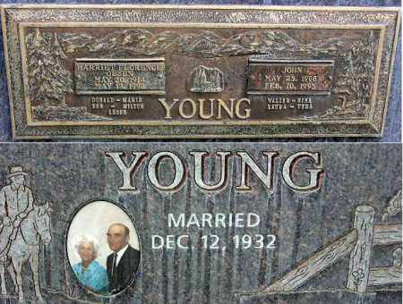 YOUNG, HARRIET FLORENCE - Wasatch County, Utah | HARRIET FLORENCE YOUNG - Utah Gravestone Photos