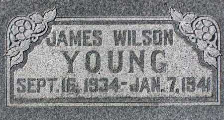 YOUNG, JAMES WILSON - Wasatch County, Utah | JAMES WILSON YOUNG - Utah Gravestone Photos