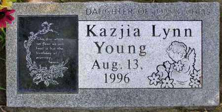 YOUNG, KAZJIA LYNN - Wasatch County, Utah | KAZJIA LYNN YOUNG - Utah Gravestone Photos