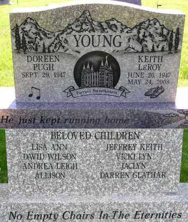 YOUNG, DOREEN - Wasatch County, Utah | DOREEN YOUNG - Utah Gravestone Photos