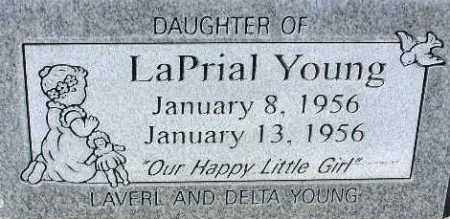 YOUNG, LAPRIAL - Wasatch County, Utah | LAPRIAL YOUNG - Utah Gravestone Photos