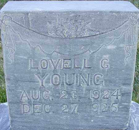 YOUNG, LOVELL G - Wasatch County, Utah | LOVELL G YOUNG - Utah Gravestone Photos