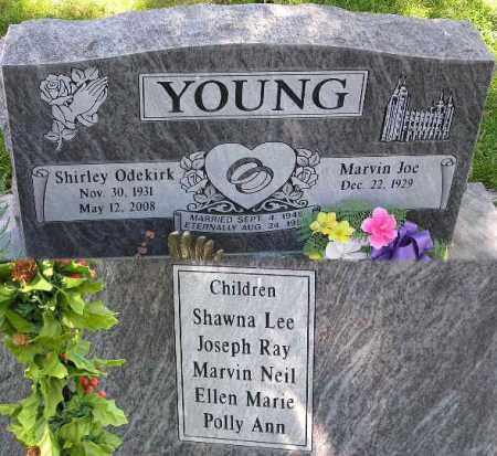 YOUNG, SHIRLEY MARIE - Wasatch County, Utah | SHIRLEY MARIE YOUNG - Utah Gravestone Photos