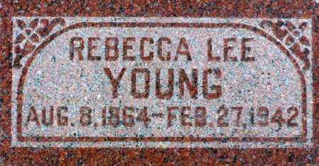 YOUNG, REBECCA LEE - Wasatch County, Utah | REBECCA LEE YOUNG - Utah Gravestone Photos