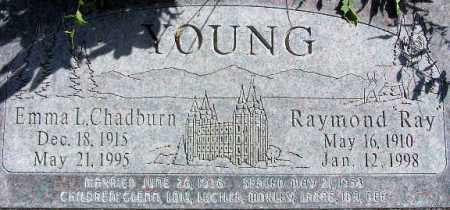 YOUNG, EMMA LUCILLE - Wasatch County, Utah | EMMA LUCILLE YOUNG - Utah Gravestone Photos