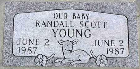 YOUNG, RANDALL SCOTT - Wasatch County, Utah | RANDALL SCOTT YOUNG - Utah Gravestone Photos
