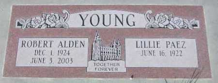 YOUNG, LILLIE - Wasatch County, Utah | LILLIE YOUNG - Utah Gravestone Photos