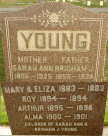 YOUNG, BRIGHAM J - Wasatch County, Utah | BRIGHAM J YOUNG - Utah Gravestone Photos