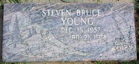 YOUNG, STEVEN BRUCE - Wasatch County, Utah | STEVEN BRUCE YOUNG - Utah Gravestone Photos
