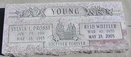 YOUNG, SYLVIA L. - Wasatch County, Utah | SYLVIA L. YOUNG - Utah Gravestone Photos