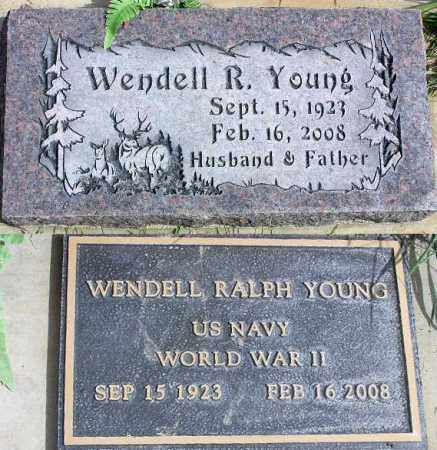 YOUNG, WENDELL RALPH - Wasatch County, Utah | WENDELL RALPH YOUNG - Utah Gravestone Photos