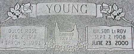YOUNG, WILSON LEROY - Wasatch County, Utah | WILSON LEROY YOUNG - Utah Gravestone Photos