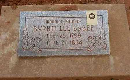 BYBEE, BYRAM LEE - Washington County, Utah | BYRAM LEE BYBEE - Utah Gravestone Photos