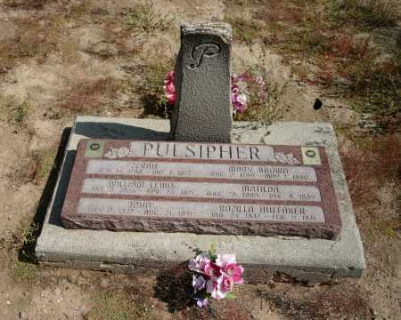 PULSIPHER, MATILDA - Washington County, Utah | MATILDA PULSIPHER - Utah Gravestone Photos