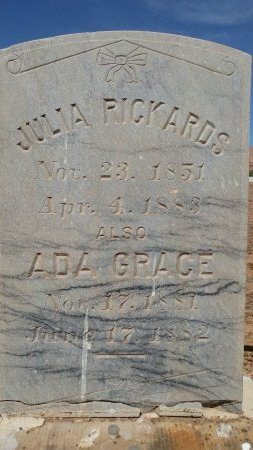 RICKARDS, ADA GRACE - Washington County, Utah | ADA GRACE RICKARDS - Utah Gravestone Photos