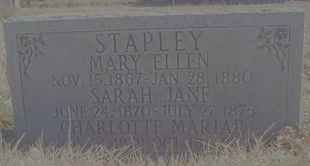 STAPLEY, SARAH JANE - Washington County, Utah | SARAH JANE STAPLEY - Utah Gravestone Photos
