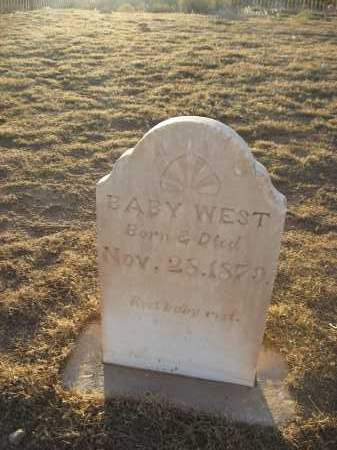WEST, BABY - Washington County, Utah | BABY WEST - Utah Gravestone Photos