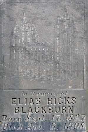 BLACKBURN, ELIAS HICKS - Wayne County, Utah   ELIAS HICKS BLACKBURN - Utah Gravestone Photos