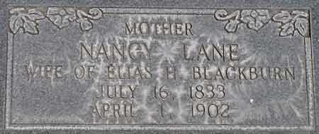 LANE BLACKBURN, NANCY PHIPPS - Wayne County, Utah | NANCY PHIPPS LANE BLACKBURN - Utah Gravestone Photos