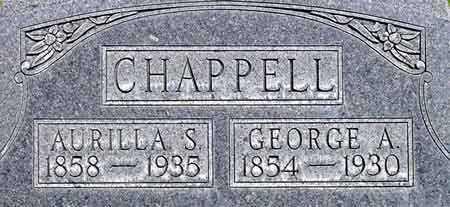 CHAPPELL, GEORGE ARMSTRONG - Wayne County, Utah   GEORGE ARMSTRONG CHAPPELL - Utah Gravestone Photos