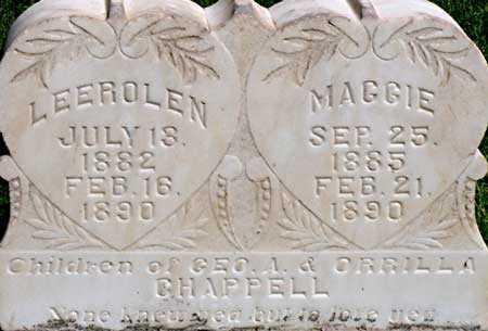 CHAPPELL, MARY LEEROLEN - Wayne County, Utah   MARY LEEROLEN CHAPPELL - Utah Gravestone Photos