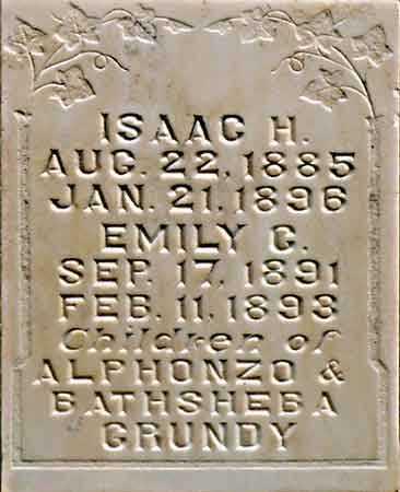 GRUNDY, EMILY CAROLINE - Wayne County, Utah | EMILY CAROLINE GRUNDY - Utah Gravestone Photos