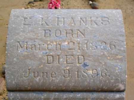 HANKS, EPHRAIM KNOWLTON - Wayne County, Utah | EPHRAIM KNOWLTON HANKS - Utah Gravestone Photos