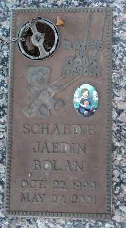 BOLAN, SCHAEDIE JAEDIN - Weber County, Utah   SCHAEDIE JAEDIN BOLAN - Utah Gravestone Photos