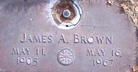 BROWN, JAMES ALBERT - Weber County, Utah | JAMES ALBERT BROWN - Utah Gravestone Photos