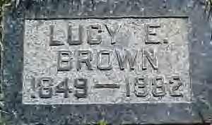 BROWN, LUCY ENSLOW - Weber County, Utah   LUCY ENSLOW BROWN - Utah Gravestone Photos