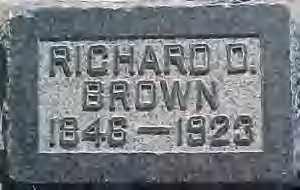 BROWN, RICHARD DANIELS - Weber County, Utah   RICHARD DANIELS BROWN - Utah Gravestone Photos