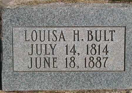 BULT, LOUISA - Weber County, Utah | LOUISA BULT - Utah Gravestone Photos