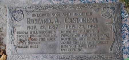 CASTORENA, RICHARD A - Weber County, Utah | RICHARD A CASTORENA - Utah Gravestone Photos