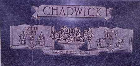 CHADWICK, ADA - Weber County, Utah   ADA CHADWICK - Utah Gravestone Photos