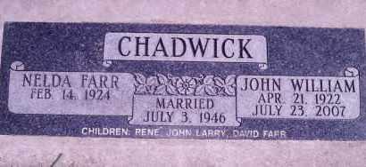 CHADWICK, NELDA - Weber County, Utah | NELDA CHADWICK - Utah Gravestone Photos