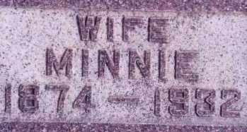 CHADWICK, MINNIE - Weber County, Utah | MINNIE CHADWICK - Utah Gravestone Photos