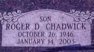 CHADWICK, ROGER DEAN - Weber County, Utah | ROGER DEAN CHADWICK - Utah Gravestone Photos