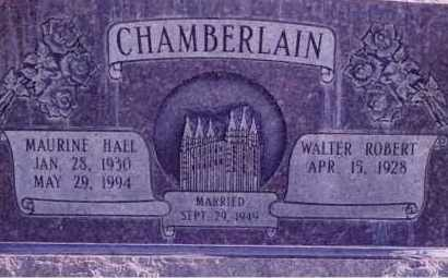 HALL, MAURINE - Weber County, Utah | MAURINE HALL - Utah Gravestone Photos