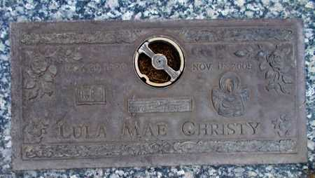 CHRISTY, LULA MAE - Weber County, Utah   LULA MAE CHRISTY - Utah Gravestone Photos