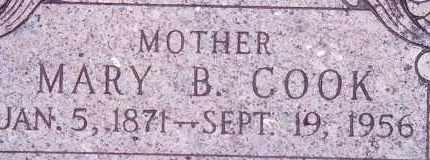 BINGHAM COOK, MARY - Weber County, Utah | MARY BINGHAM COOK - Utah Gravestone Photos