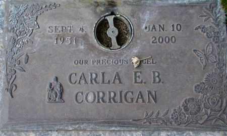CORRIGAN, CARLA E B - Weber County, Utah | CARLA E B CORRIGAN - Utah Gravestone Photos