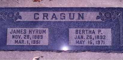 CRAGUN, BERTHA - Weber County, Utah | BERTHA CRAGUN - Utah Gravestone Photos