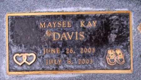 DAVIS, MAYSEE KAY - Weber County, Utah   MAYSEE KAY DAVIS - Utah Gravestone Photos