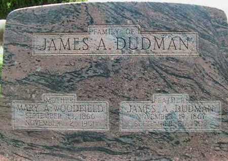DUDMAN, JAMES ALFRED - Weber County, Utah | JAMES ALFRED DUDMAN - Utah Gravestone Photos